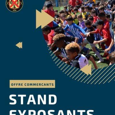 STAND EXPOSANTS – Tournois des 12 & 13 juins 2021 – US Venelles
