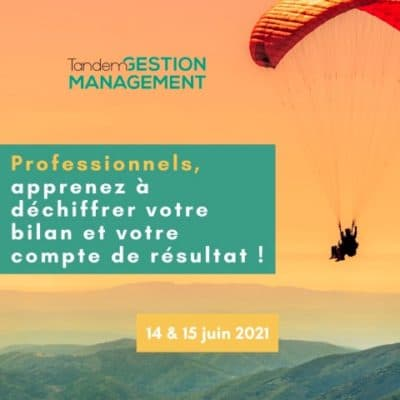 Formation professionnelle Tandem gestion